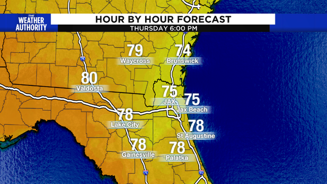 Gorgeous evening with cool temperatures
