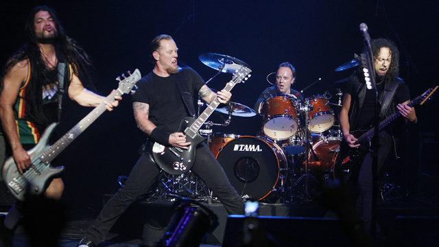 Metallica to headline Welcome to Rockville lineup