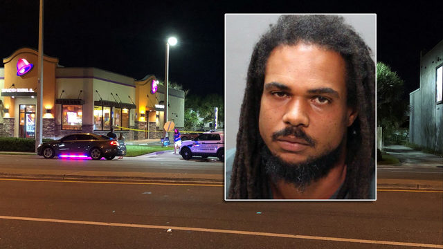 Police: Man arrested in shooting at Jacksonville Beach Taco Bell