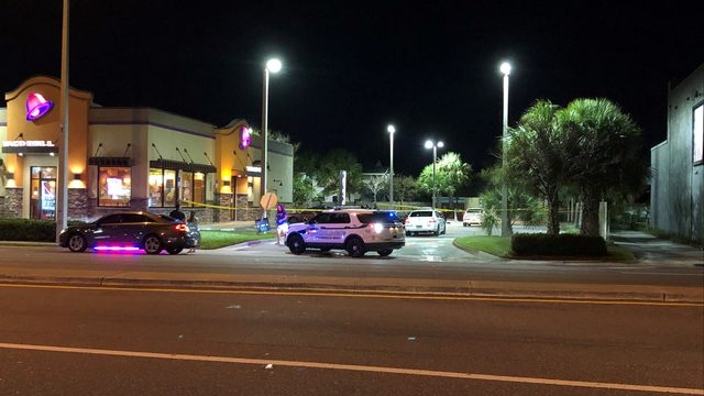 1 in critical condition after shooting at Taco Bell in Jacksonville Beach