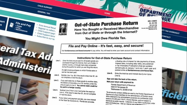 Florida considers forcing collection of tax on online sales