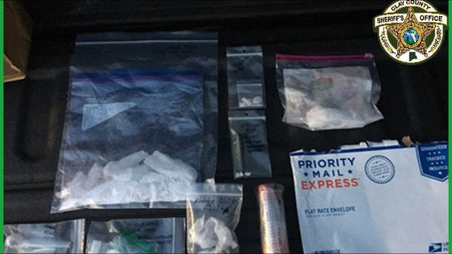 Jacksonville man accused of trafficking meth through mail