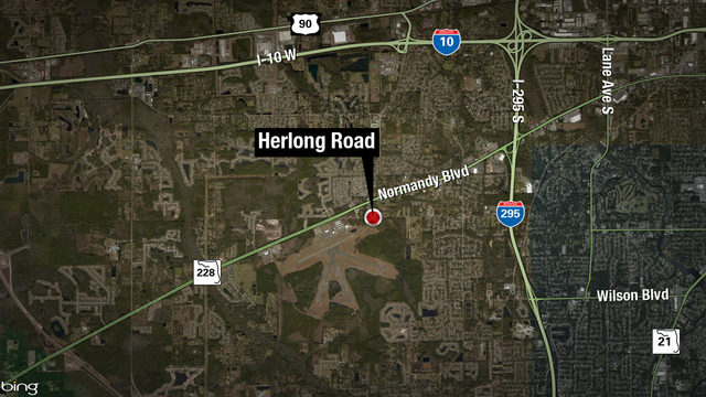 At least 1 injured in crash on Herlong Road