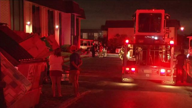 Nurse helped neighbor evacuate during Confederate Point Apartments fire