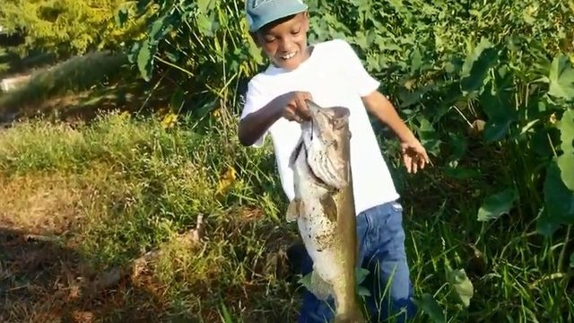 Florida boy catches personal best bass in adorable viral video