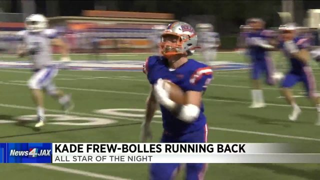 All-Star of the Night: Bolles' Kade Frew