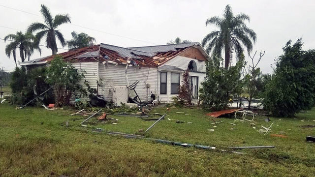 After tornados damage Southwest Florida, Nestor moves through Georgia