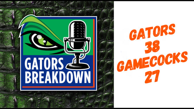 Gators Breakdown: Game Review | Florida 38 S.Carolina 27
