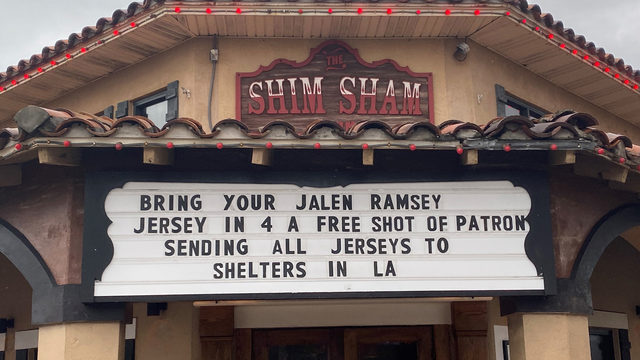 Jacksonville Beach bar offers shots in exchange for Jalen Ramsey jerseys