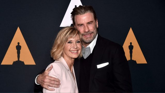 John Travolta, Olivia Newton-John in Jacksonville for 'Grease' sing-a-long event