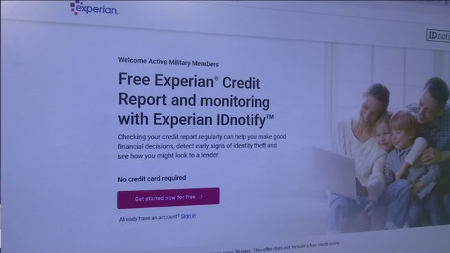 Free credit monitoring now available to active duty military