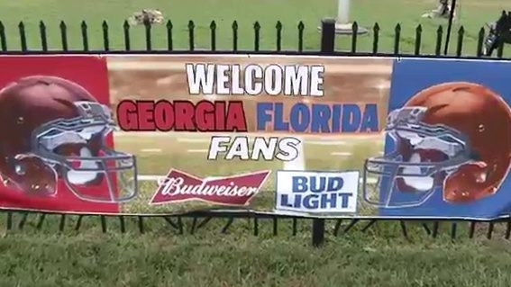 Dawgs, Gators come together in RV City for Florida-Georgia game