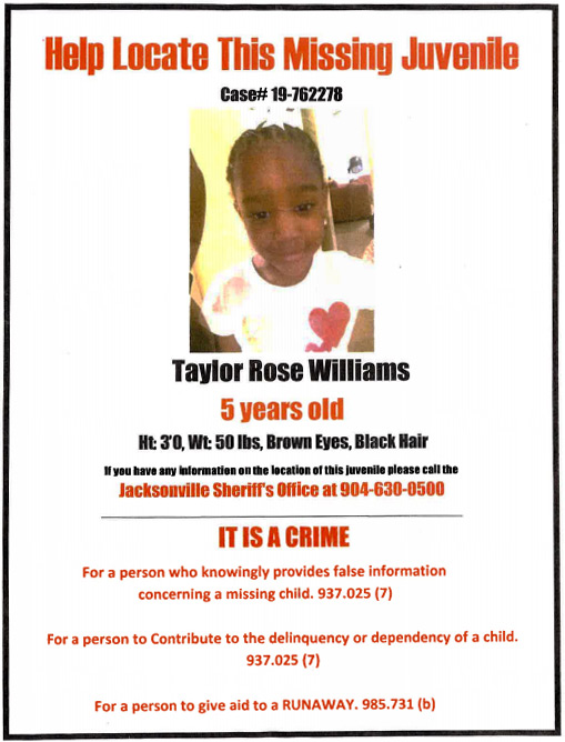 Taylor Rose Williams flyer