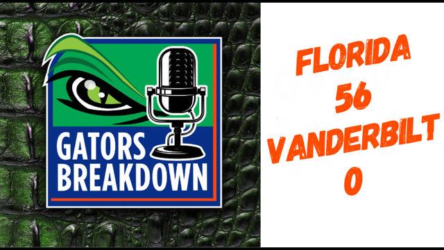Gators Breakdown: Game Review | Florida 56 Vanderbilt 0