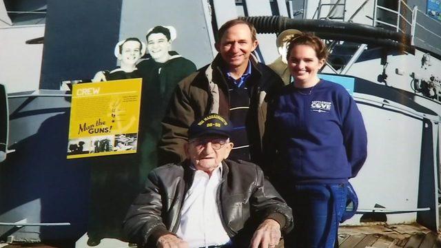 Navy veteran checks the box on one of his bucket list items