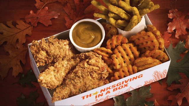 Hardee's tests Thanksgiving in a Box in Jacksonville