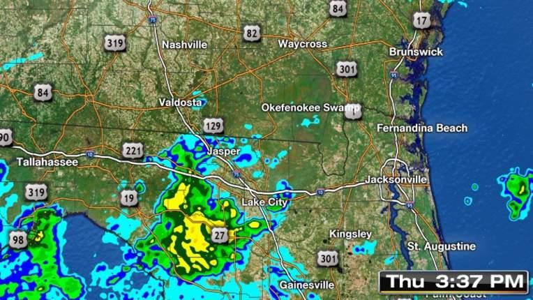Weather Jacksonville Florida Forecast Radar Severe Alerts