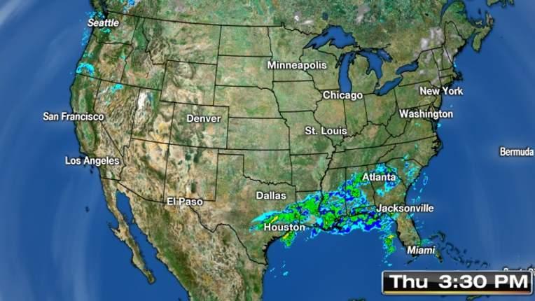 Us Radar Weather Map Online Maps Of USA National Weather Radar - Us radar map forecast